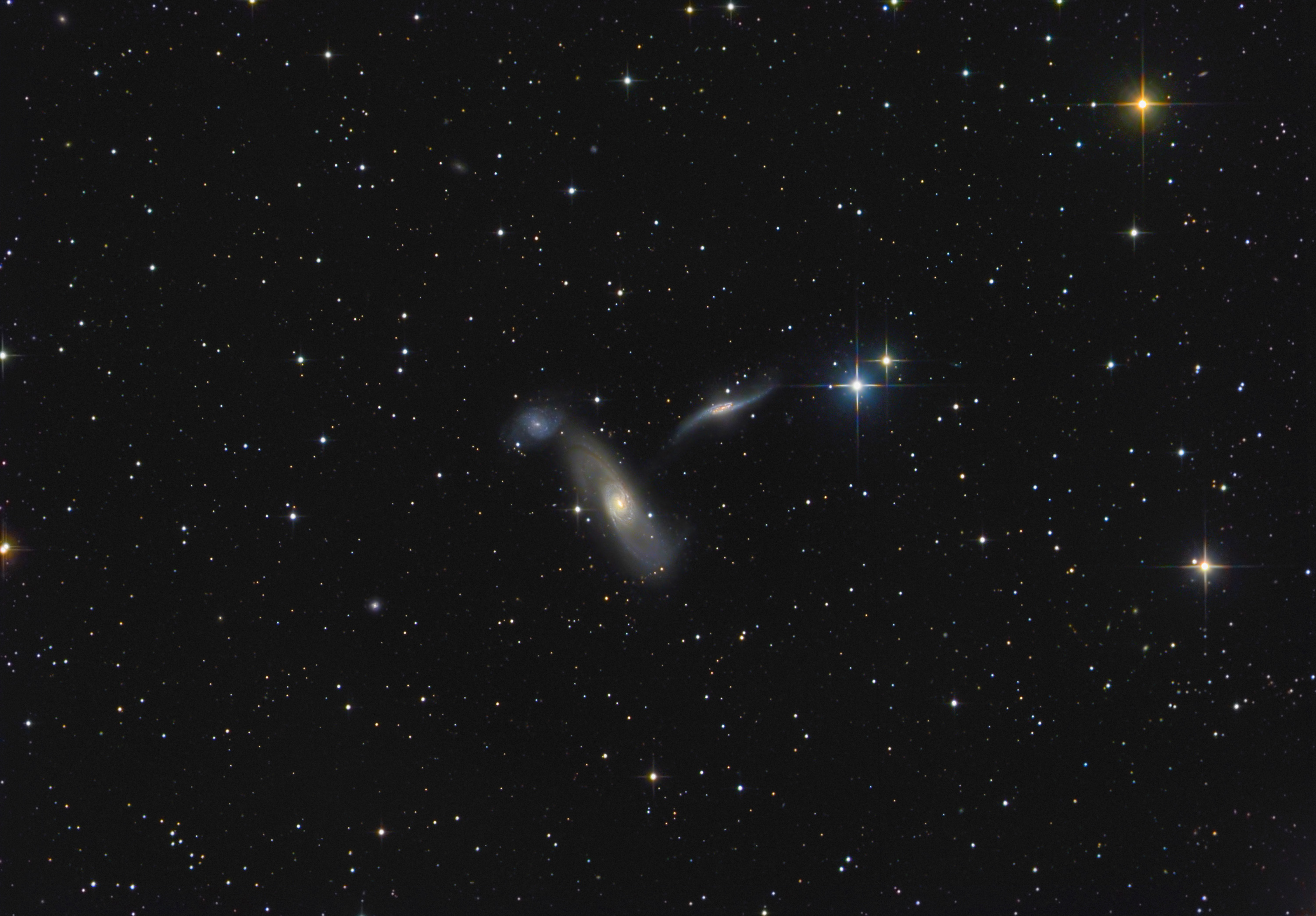 Klostersternwarte NGC5566Gruppe 202003 25 0416L 20180315 21RGB 704min